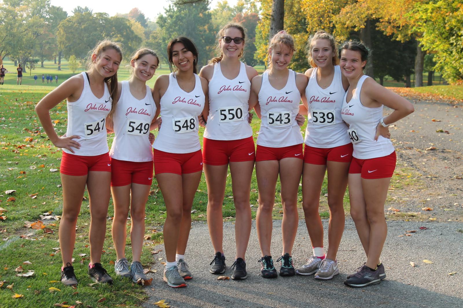Girls Cross Country Sectional Meet (Oct 10)