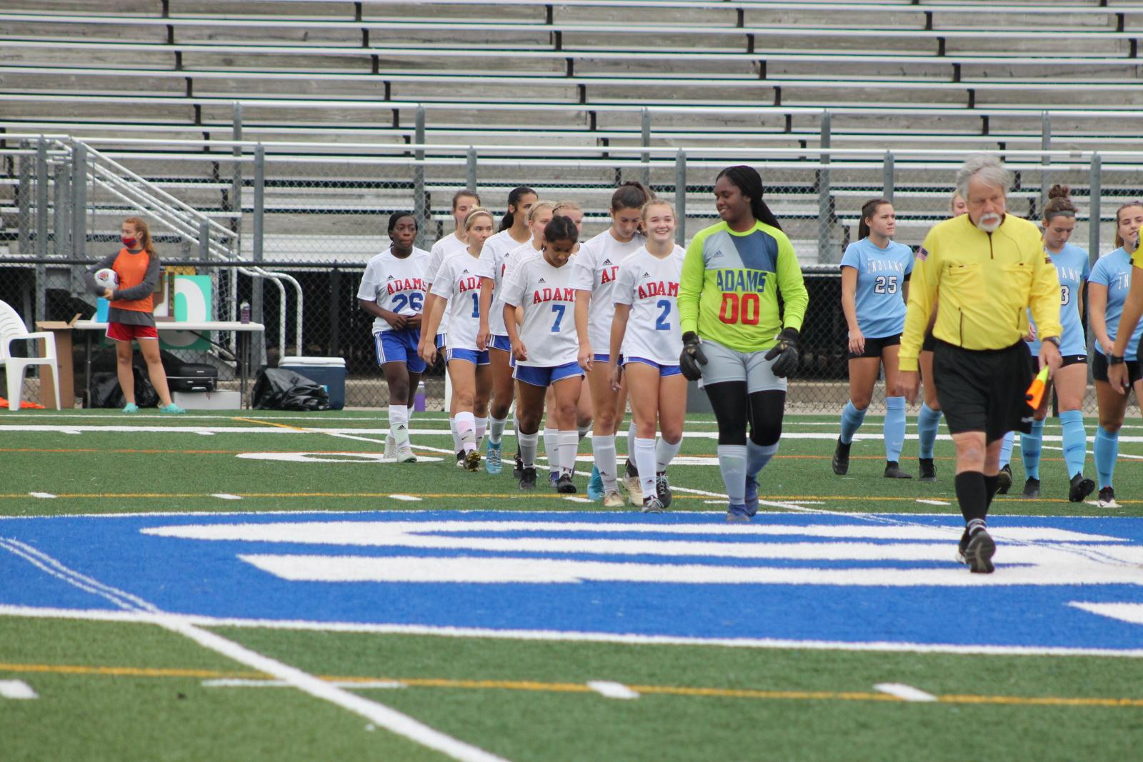 Girls Soccer Sectional Championship Game vs St Joseph (Oct 10)