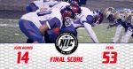 Football Loses to Penn in Regular Season Finale