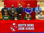 Four Eagles Sign To Compete Collegiately