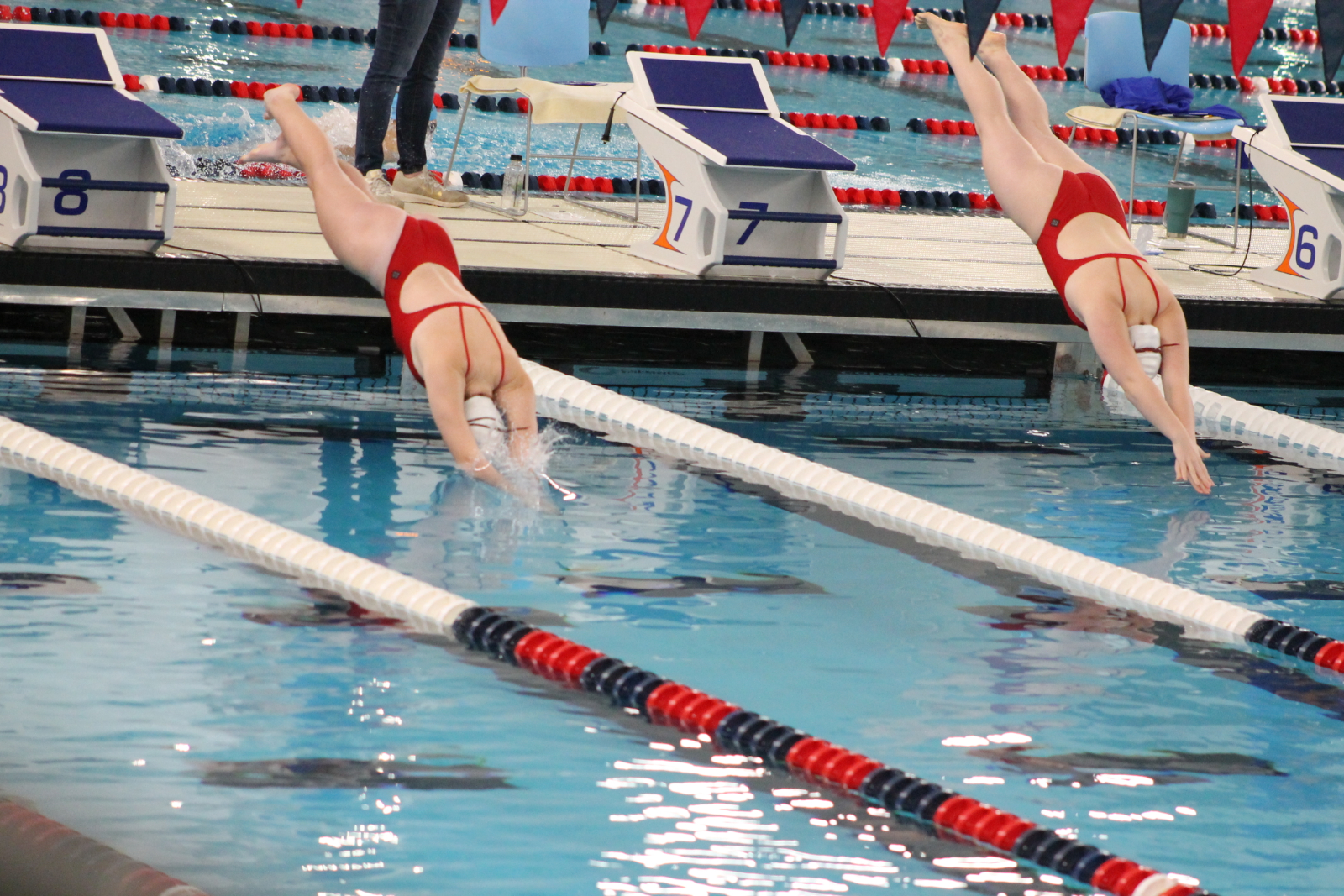 Girls Swimming and Diving at Elkhart (Nov 12)