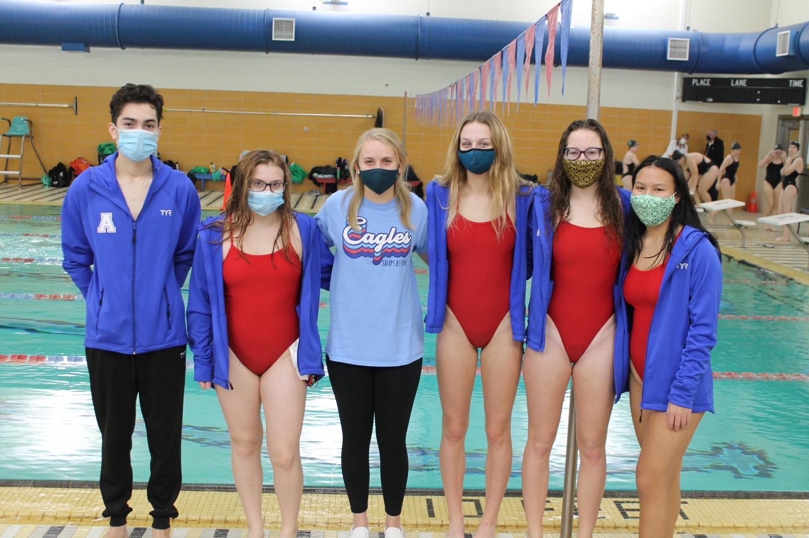 Boys and Girls Swim and Dive Senior Night