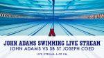 Boys and Girls Swim vs SB St Joseph Stream Info