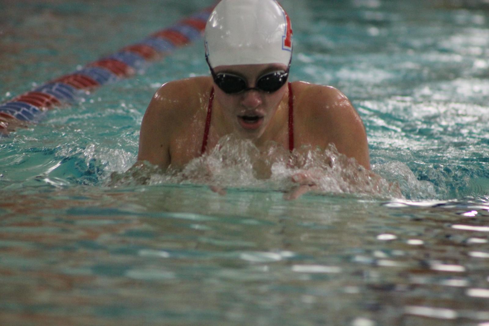 Girls Swimming vs Mishawaka Marian (Dec 8)