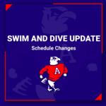 Swim and Dive vs New Prairie Postponed