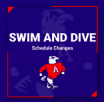 Boys and Girls Swim and Dive Schedule Updates