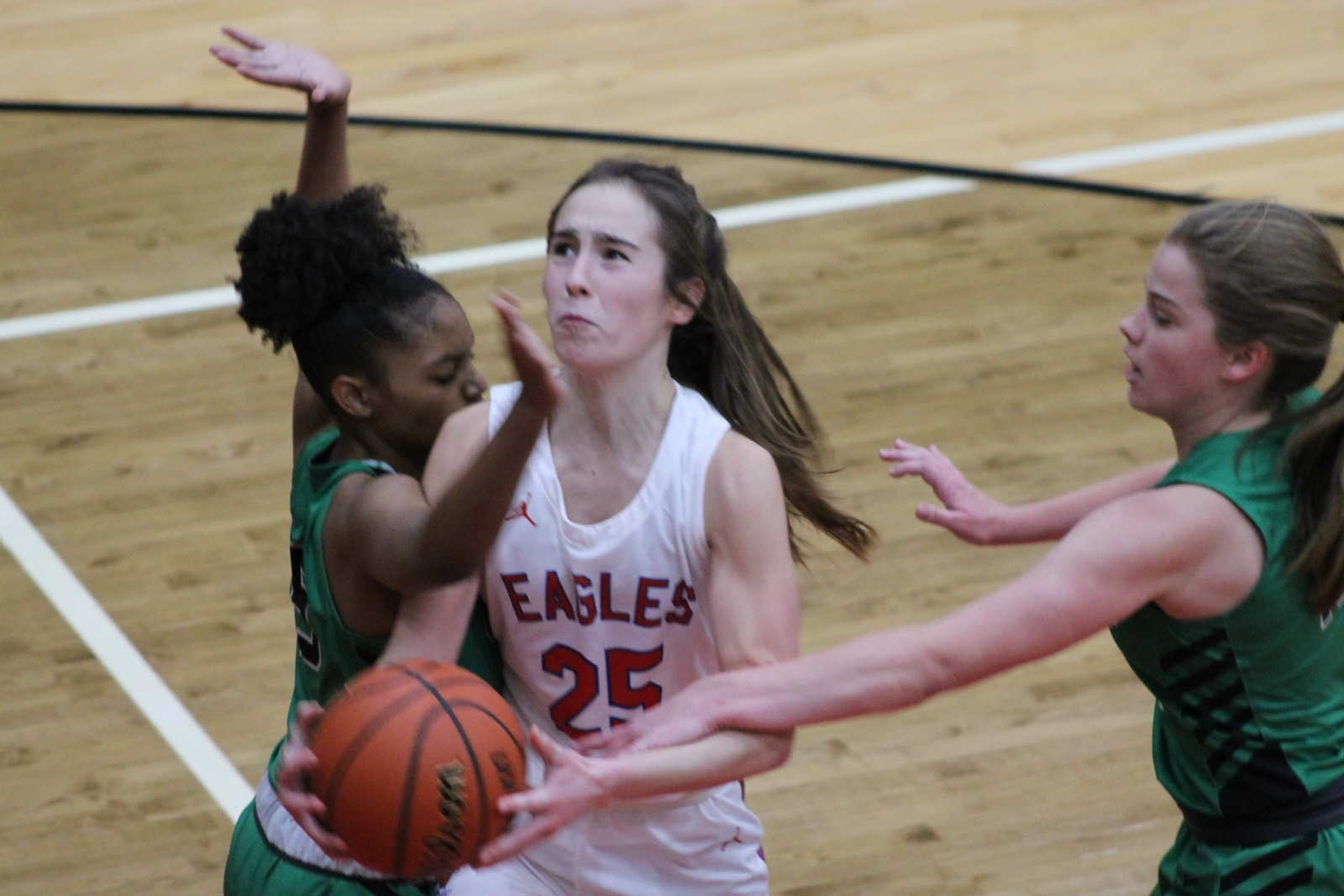 Girls Basketball vs Concord (Dec 15)