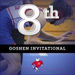 Wrestling Finishes 8th at Goshen Invitational