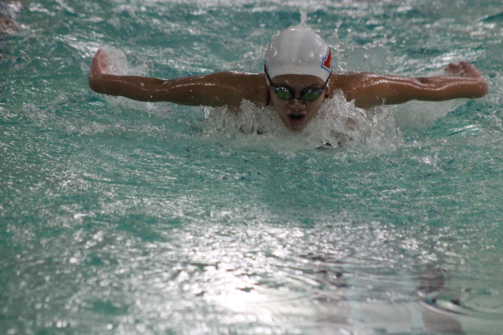 Girls Swimming vs Penn (Jan 12)