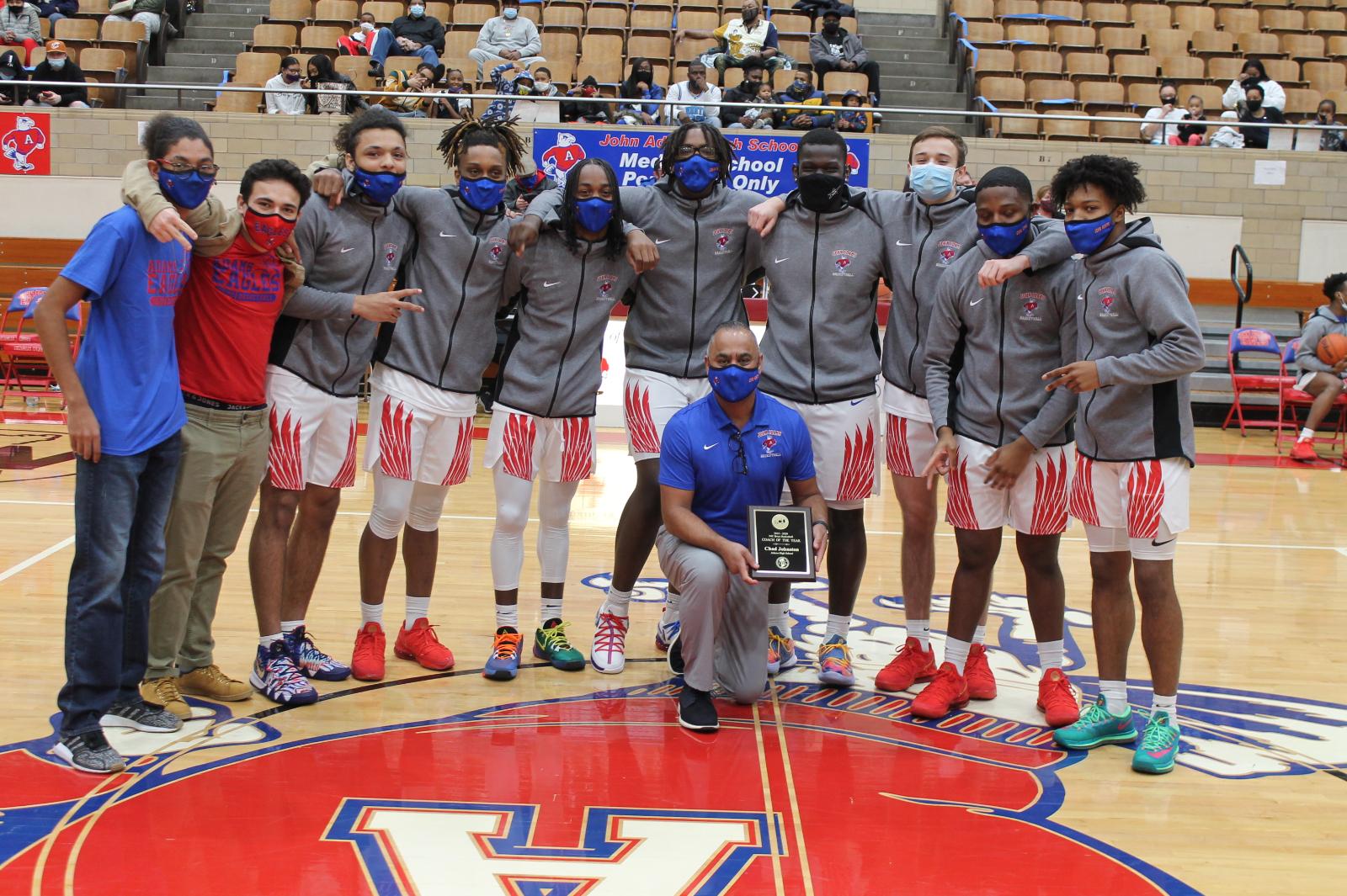 Boys Basketball Senior Night 2021