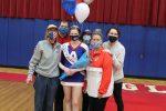 Cheerleading Senior Night 2021
