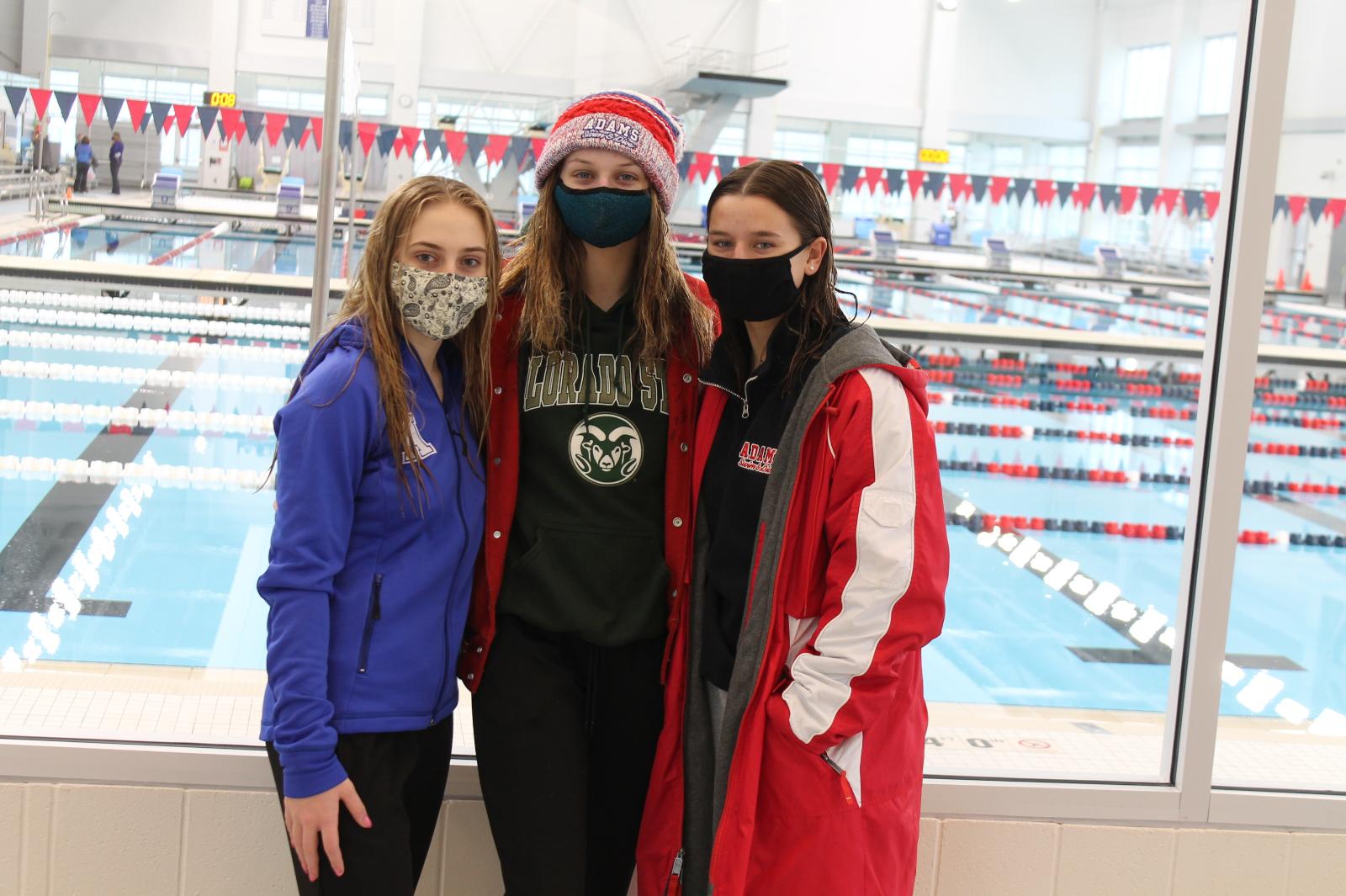 Girls Diving NIC Championships (Jan 16)