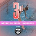 Girls Swimming and Diving Finishes 3rd at NIC Championships