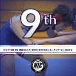 Wrestling Finishes 9th at NIC Championships