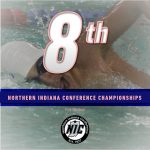 Boys Swimming Finishes 8th at NIC Championships