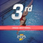 Records Set as Girls Swim and Dive Finishes 3rd at IHSAA Sectional