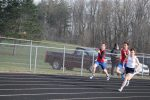 Boys Track and Field at New Prairie (Mar 31)