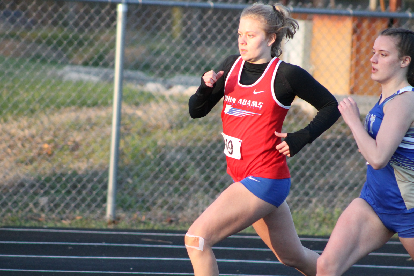 Girls Track and Field at Elkhart (April 13)