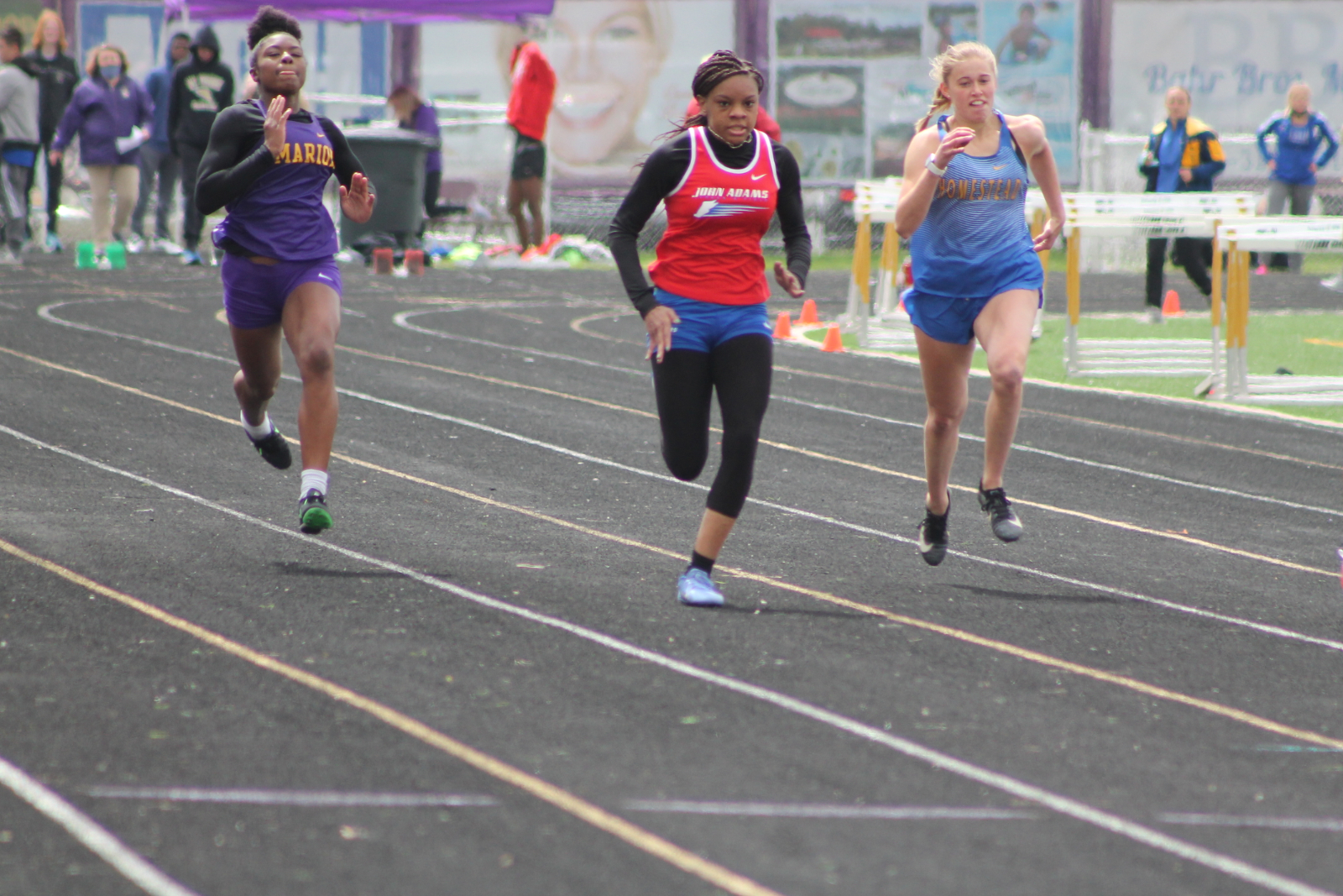 Girls Track and Field Marion Relays (April 17)