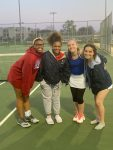 Girls Tennis Battles to Down Elkhart