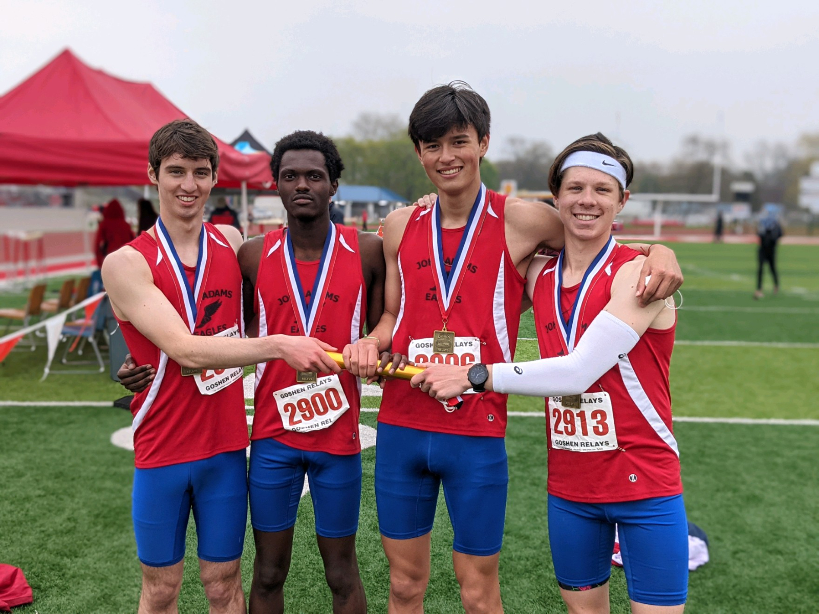 Boys Track and Field Goshen Relays (April 24)