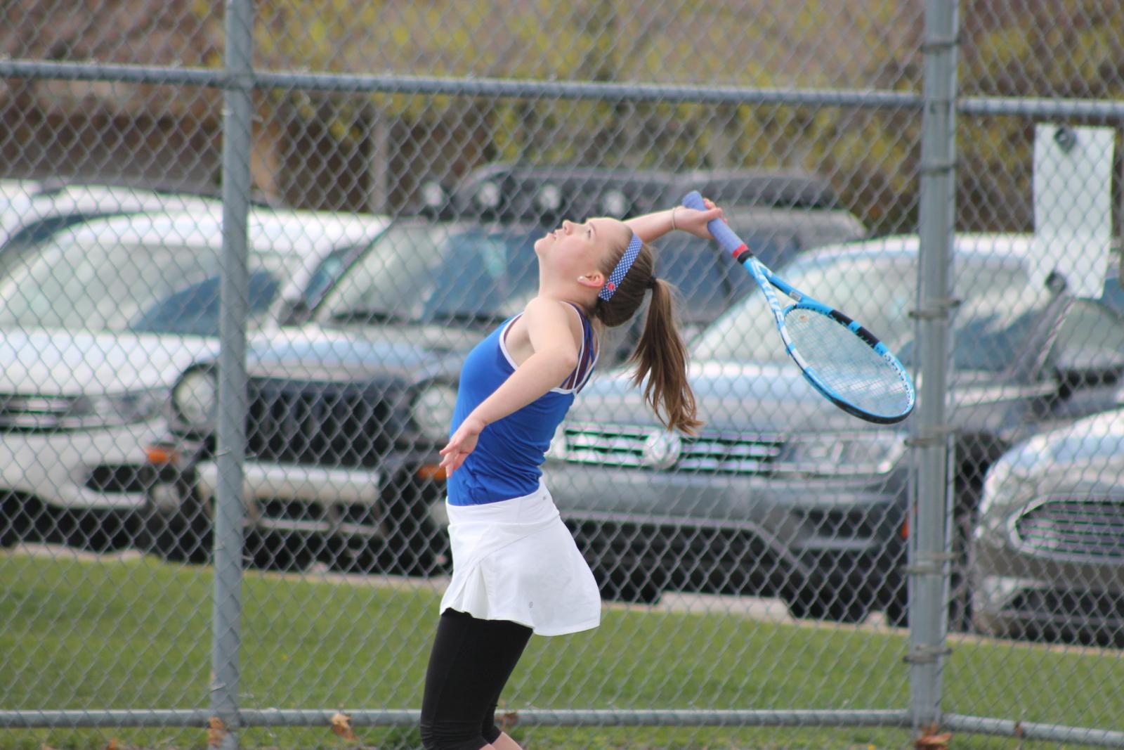 Girls Tennis vs SB St Joseph (April 21)