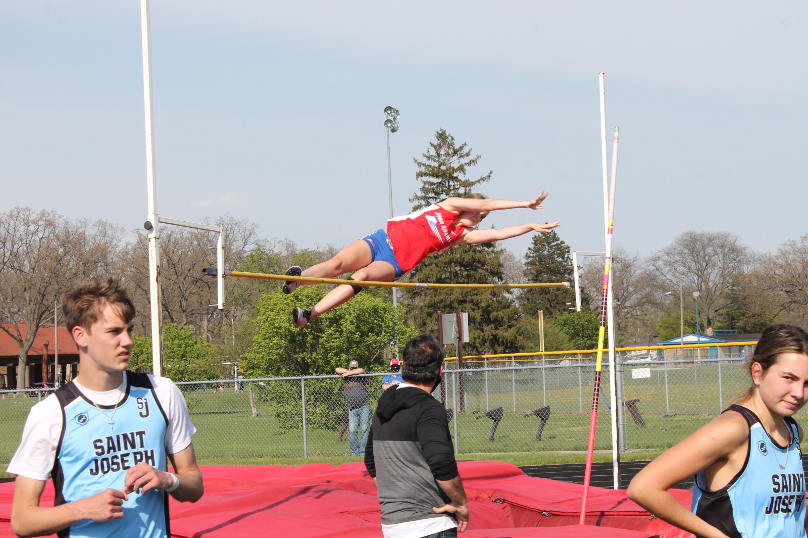 Girls Track and Field vs SB St Joseph (April 27)