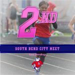 Girls Track and Field Finish 2nd Place at City Meet