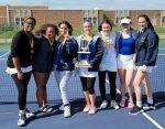 Girls Tennis Wins New Prairie Invitational