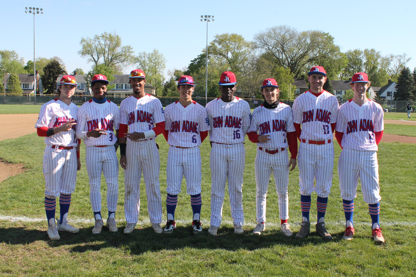 Baseball Senior Night 2021