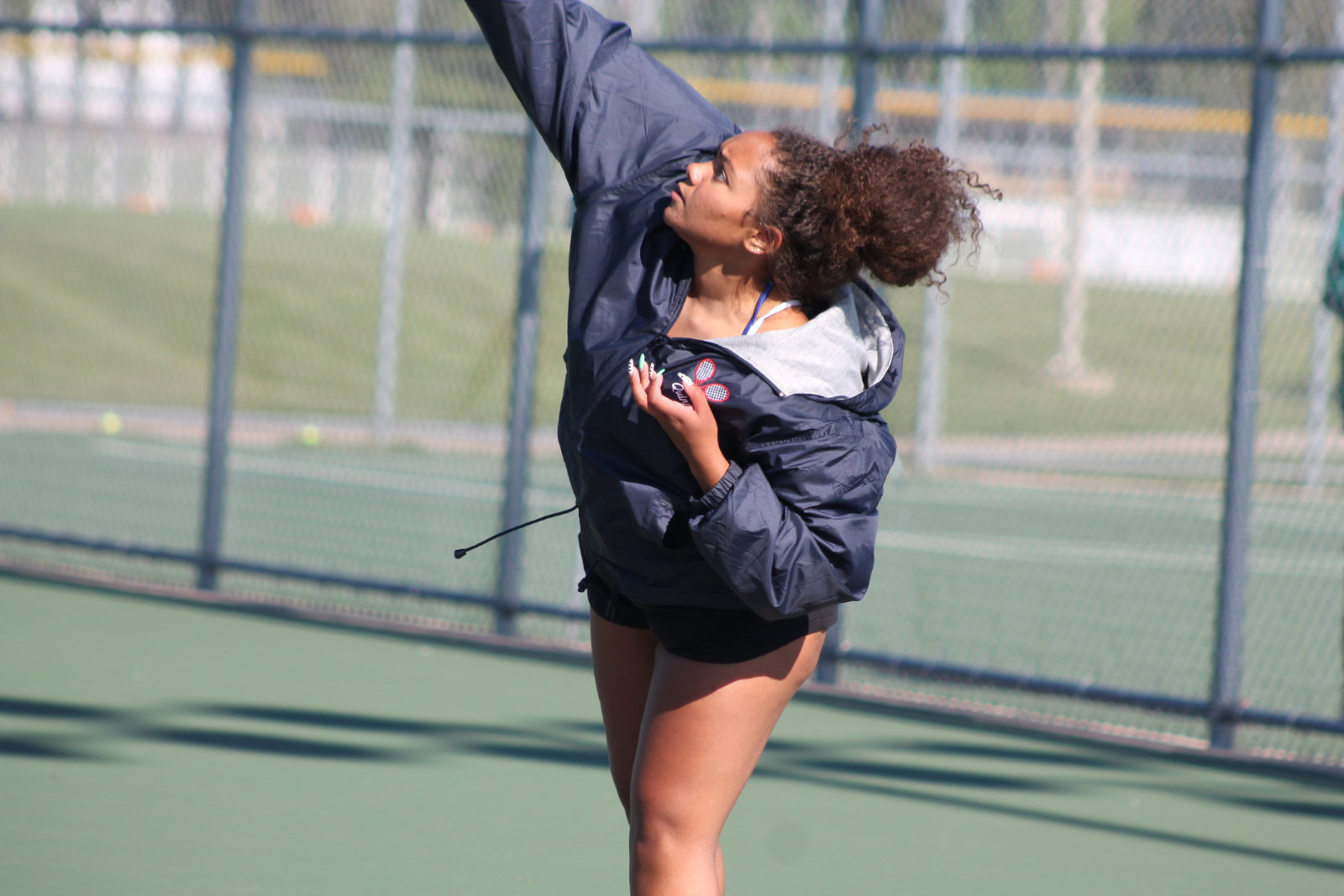 Girls Tennis vs LaVille (May 7)