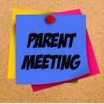 Winter Parent Meeting – 11/4