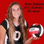 Johnson earns Academic All-State!