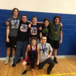 Knightstown Boys Middle School Wrestling finishes 2nd place