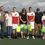 Panther Tennis celebrates Senior Night with a win over Union City 4-1