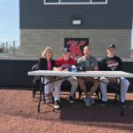 Back signs with University of the Cumberlands!