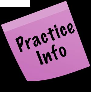 Practice Schedules: 11/13