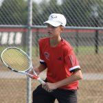 Varsity Tennis beats Triton Central 4-1