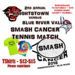 Panther Tennis Hosts Smash Cancer fund-raiser/match Saturday
