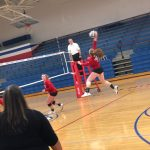 Girls Varsity Volleyball falls to Union County 3 – 1