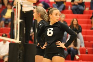 Knightstown Varsity Volleyball sweeps Winchester