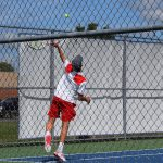Panther Tennis Downs New Castle 4-1