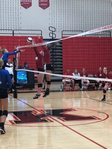 Lady Panther Volleyball sweeps Anderson Prep