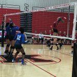 Girls Varsity Volleyball beats Anderson Prep. Academy 3 – 0