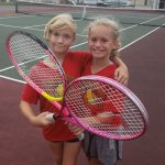 KIS Tennis gets their fill of matches at New Castle 12-5