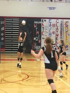 JV Volleyball defeats Union City 2-0