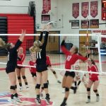 Girls Varsity Volleyball beats Southwestern Shelby 3 – 1