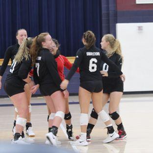 KHS Volleyball vs Shenandoah  KHS wins 3-2