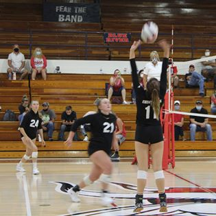KHS volleyball vs BRV