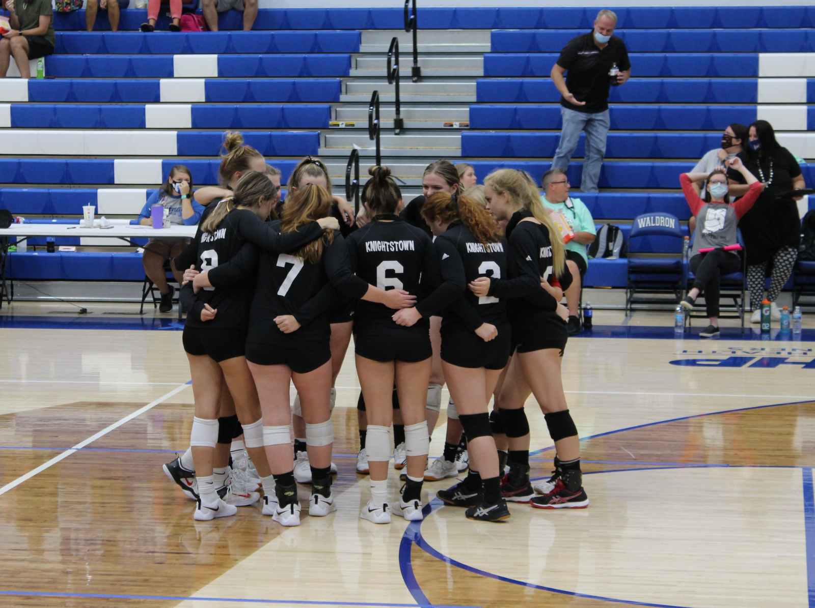Panthers travel to Waldron and fall in 3